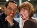 Chris Haley & June Baff Black - London, February 2009 - PRNewsFoto/Ancestry