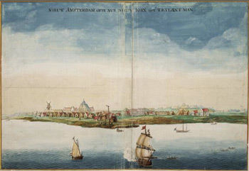 New Amsterdam 1665