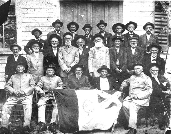 Wakulla County, Florida, Civil War Veterans, probably 1904 Courtesy of Florida State University.