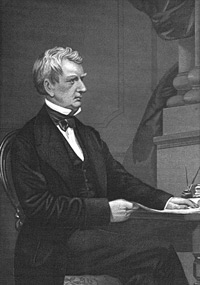 William Henry Seward - Caption (William Henry Seward, responsible for the 1867 purchase of Alaska from Russia)