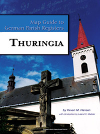 German Map Guide Vol. 24 - Thuringia