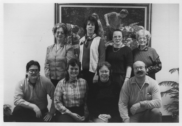 The 1985 Heritage Quest Christmas Tour Group Photo