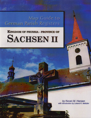 Map Guide to German Parish Registers – Kingdom of Prussia - Province of Sachsen II, RB Merseburg