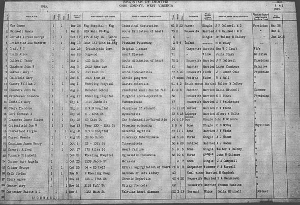 west virginia online vital records reviewed – genealogyblog