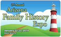Arizona Family History Expo-2010