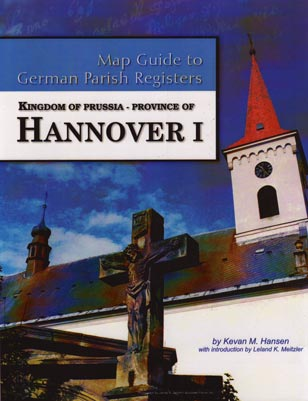 Hannover I Map Guide to German Parish Registers
