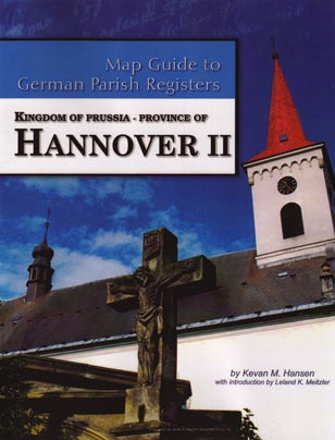 German Map Guide - Hannover II - softcover