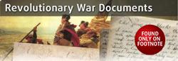 Revolutionary War Documents at Footnote.com