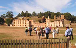 Tourists head for Port Arthur historic site