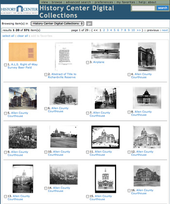 Historical Center Digital Collections