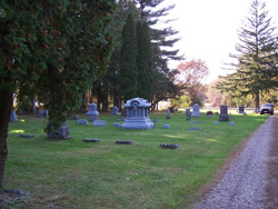 Trinity Rest Cemetery, October 09, 2010  Photo by R. Melissa Reininger