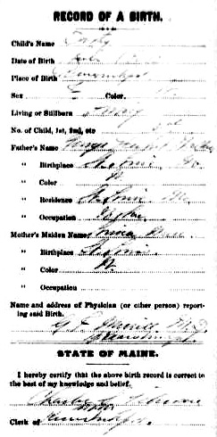 Dorothy Walker birth record - mother of President George Herbert Walker Bush