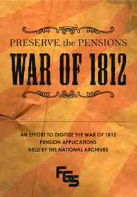 Preserve the Pensions - War of 1812