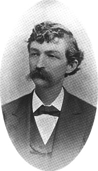 Captain Thomas H. Hines at twenty-three (afterwards Chief Justice of the Kentucky Court of Appeals)
