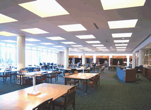 Georgia Archives reference room