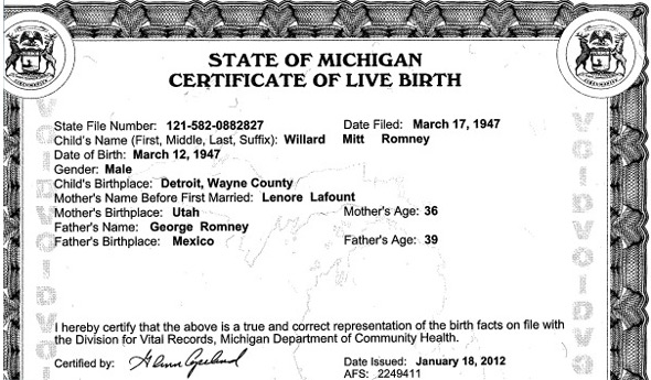 Application to correct birth certificate michigan