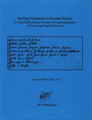 Spelling Variations in German Names – GenealogyBlog