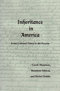 Inheritance in America book