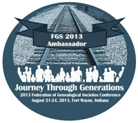 FGS 2013 Ambassador Badge