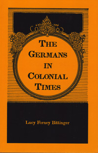 Germans in Colonial times