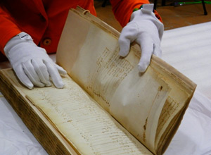 This 439-year-old baptismal registry from France confirms previously debated details about the birth of Samuel de Champlain.