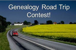 Genealogy Road Trip Contestst