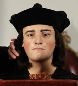 3D-printed model of Richard III