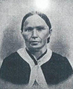 Mary Myers of Gage County, Nebraska, first female homesteader