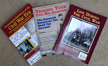 Three Civil War books