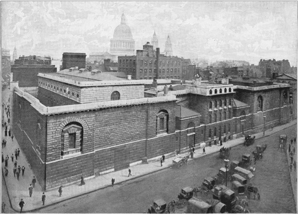 Newgate Prison in 1896