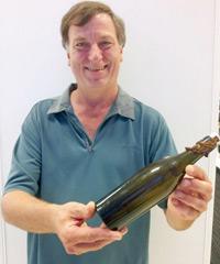 B.C-Man-Finds-Bottle