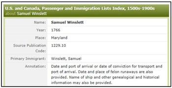 Samuel-Winslett-Results