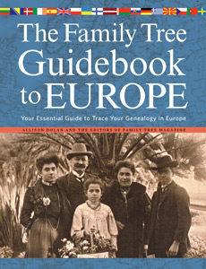 Family Tree Gudiebook to Europe