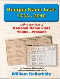 Georgia-Name-Lists