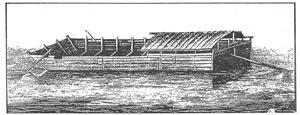 Ohio River Flatboat