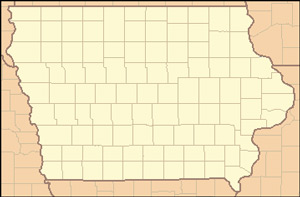 Iowa's 99 counties since 1857