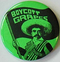 A boycott button that is part of the online archive now owned by UCSD. — Courtesy of UCSD