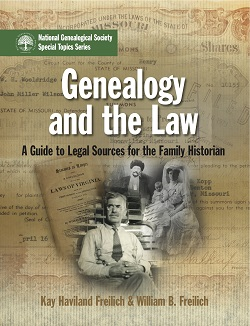 Genealogy and the Law-Front_Cover