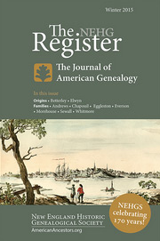 The-NEHG-Register-Winter-2015-cover-180pw