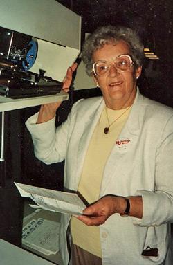 Hazel Juhl Mills  - December 1987