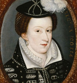 Mary Queen of Scots, depicted here around 1565.