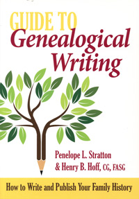 guide to genealogical writing how to write and publish your family