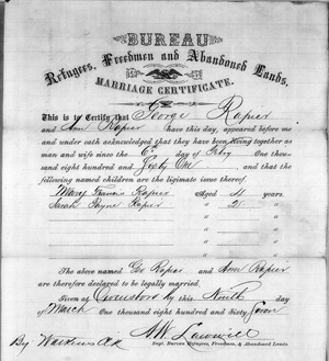 Discover-Freedmen-marriage_certificate_for_george_and_ann_rapier-owensboro_kentucky