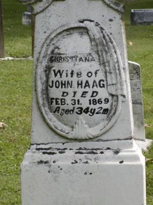 Tombstone Feb 31st