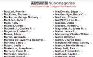 Author M