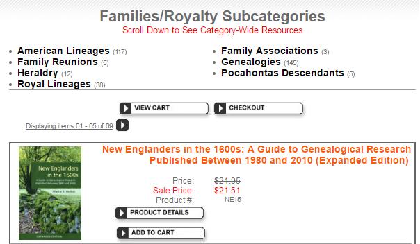 Subcategories