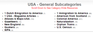 USA - General