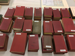 New York City directories waiting to be digitized.