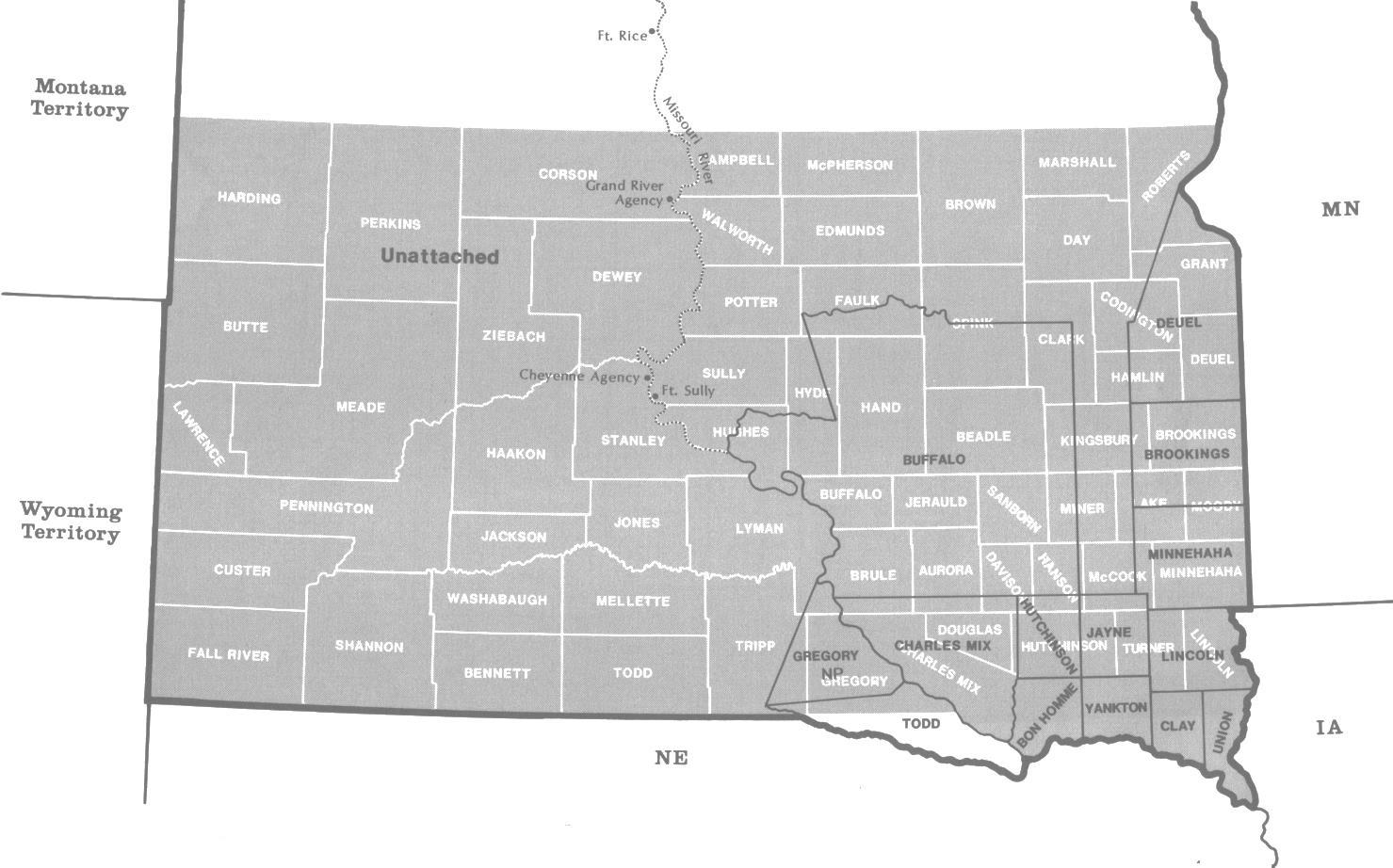 birth records 1870 dakota territory